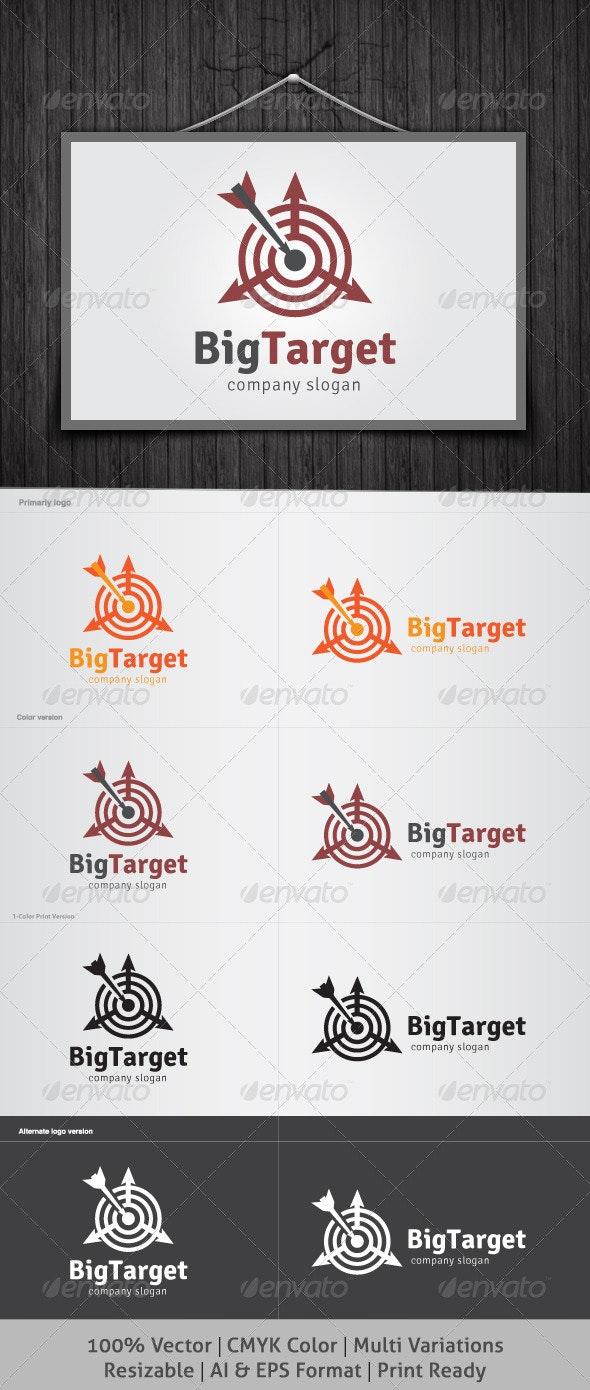BigTarget Logo - Symbols Logo Templates