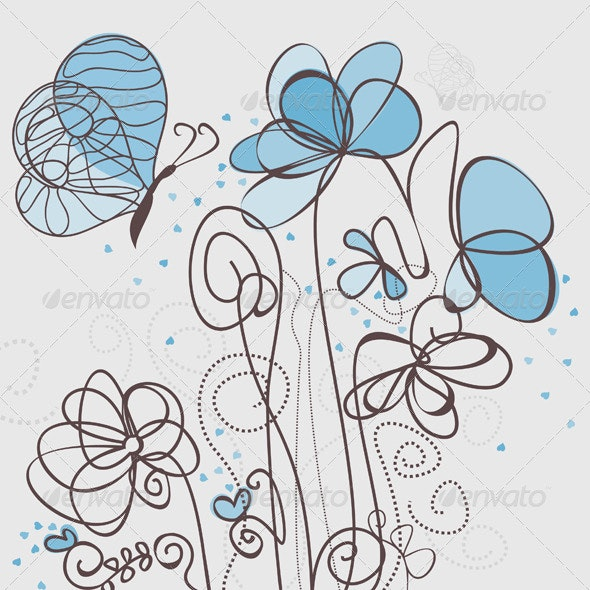 Blue Flower - Flowers & Plants Nature