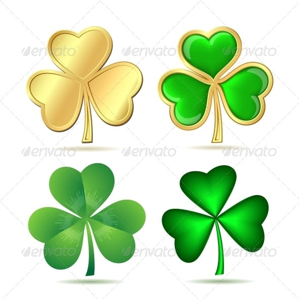 Set of Clovers