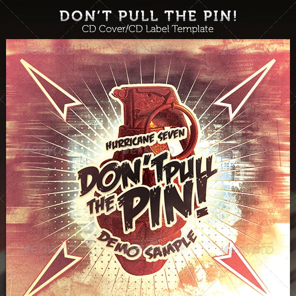 Don't Pull the Pin! CD Cover Artwork Template