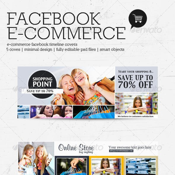 FB E-Commerce Timeline Covers