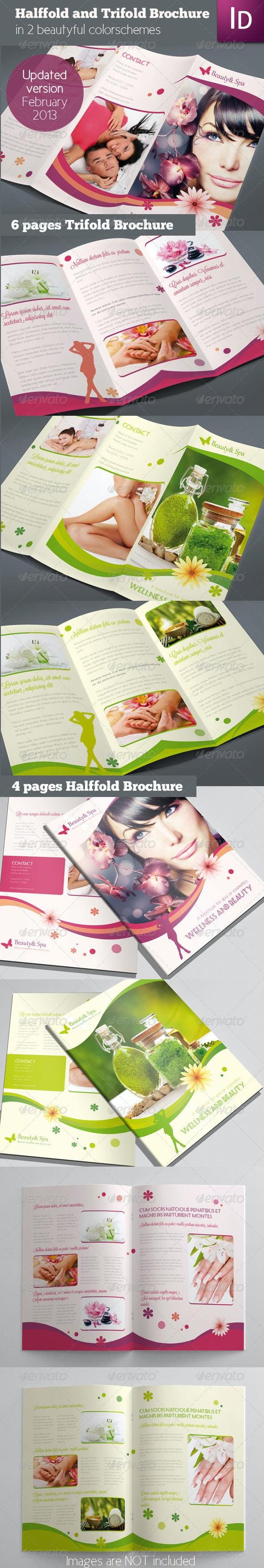 Set of 2 Brochures - Corporate Brochures