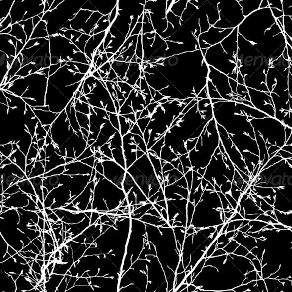 Seamless Vector Texture of Branches
