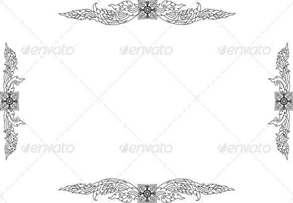 Thai Pattern - Patterns Decorative