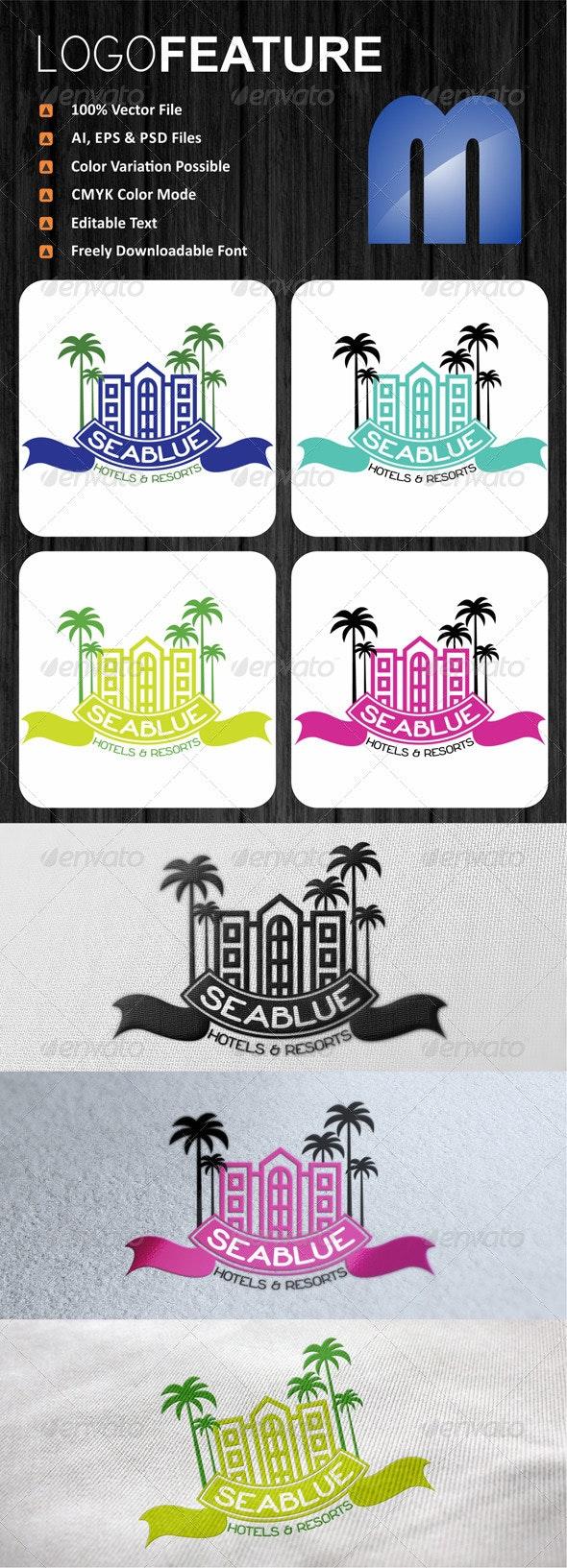 Sea Blue Logo  - Logo Templates