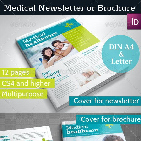 Medical Newsletter Template