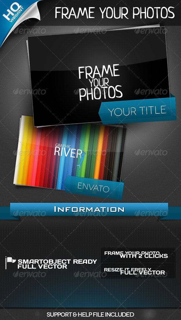 Frame Your Photos - Photo Templates Graphics