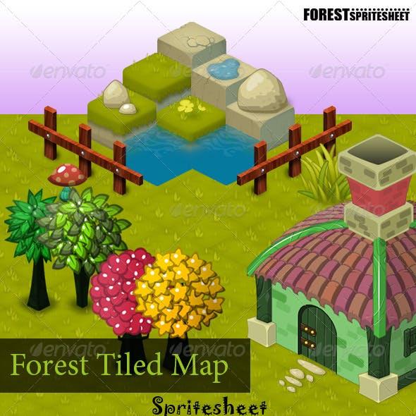 Forest Tiled-Map Sprite Sheet