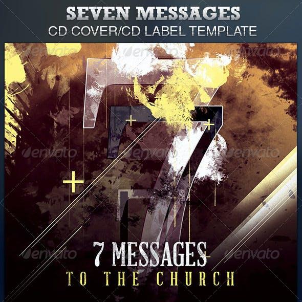 Seven Messages  CD Artwork Template