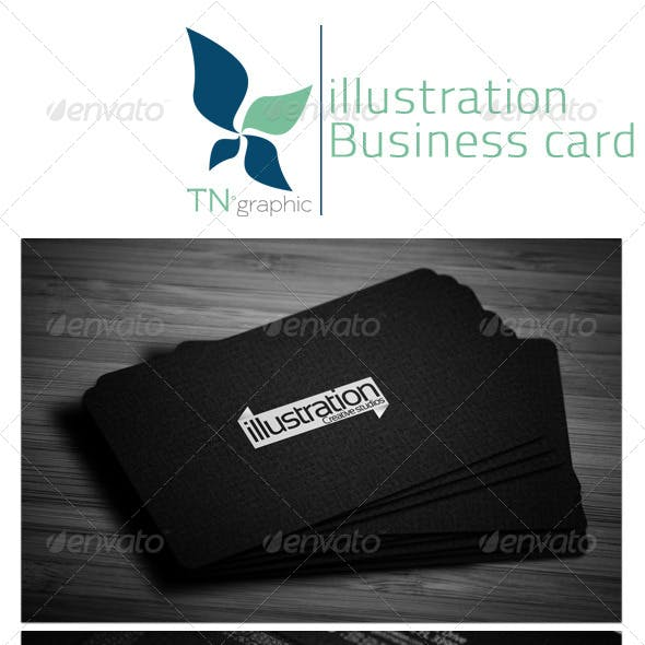 Illustration Business card