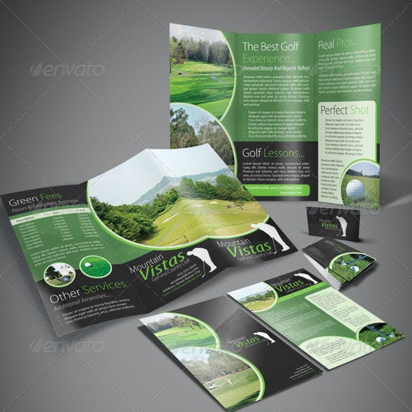 A4 Trifold Brochure - A5 Flyer- Business Card