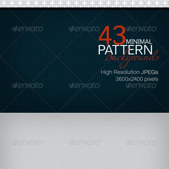 43 Minimal Pattern Backgrounds