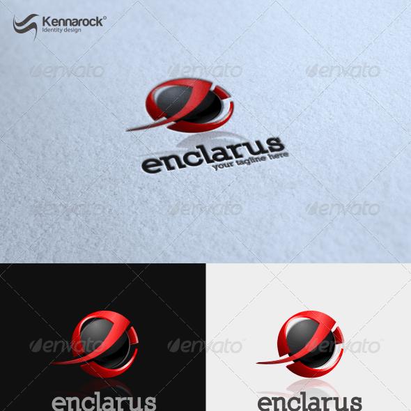 Enclarus Logo Template
