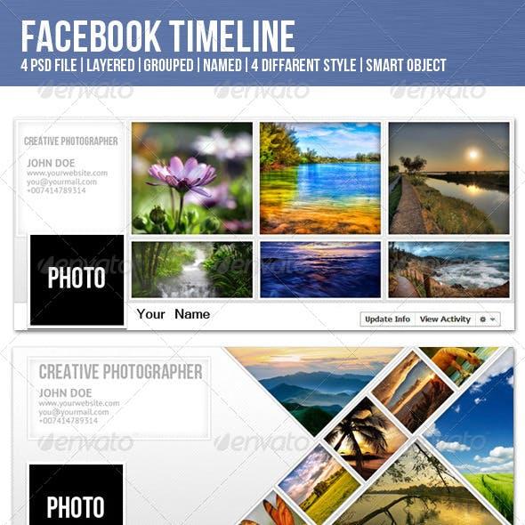 Facebook Timeline for Photographer
