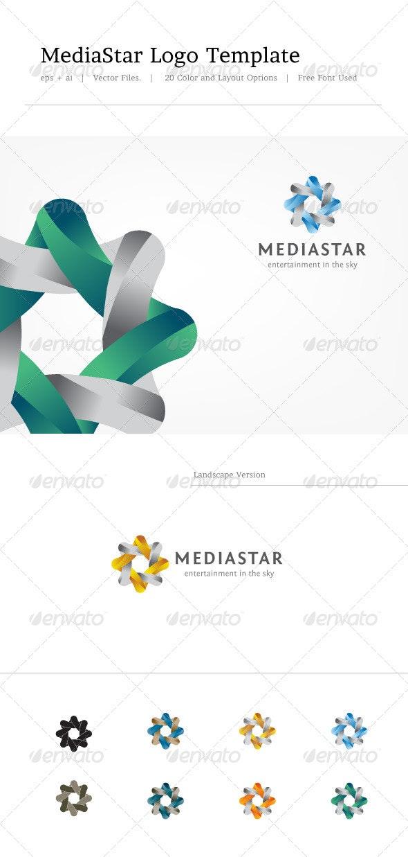 Mediastar - Logo Templates