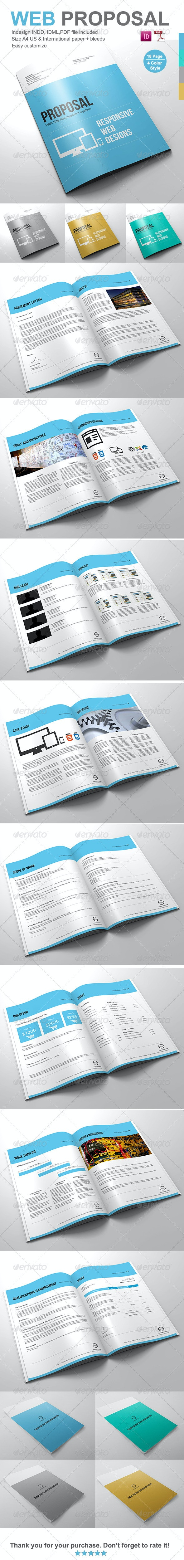 Gstudio Web Proposal Template - Proposals & Invoices Stationery