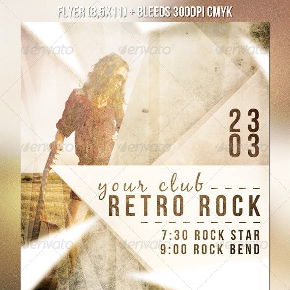 Sepia Rock Flyer