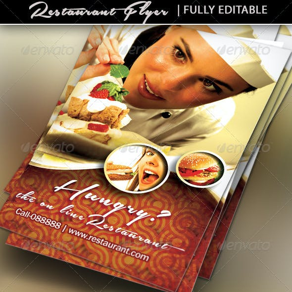 Restaurant Business / Flyer Template