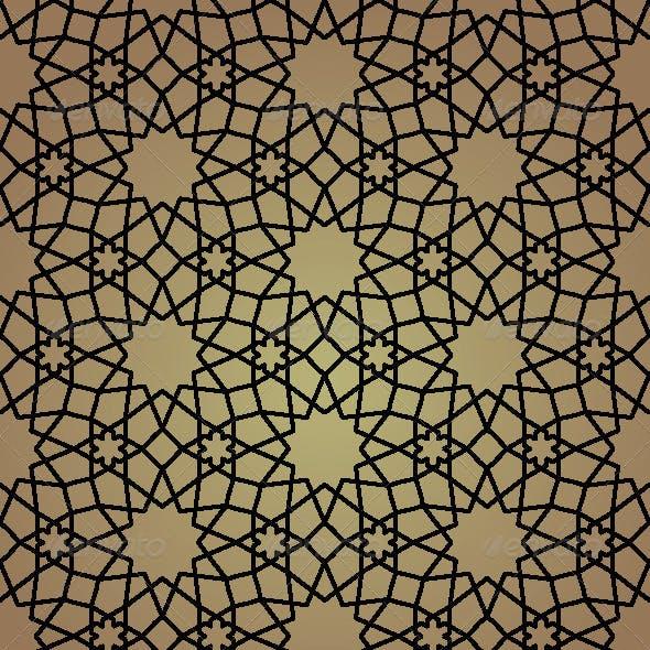 Seamless Arabic Background