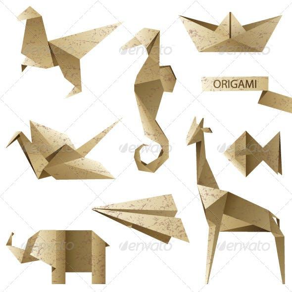 Origami Icons