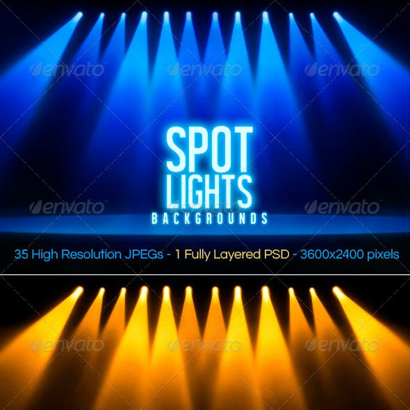 Spotlights Backgrounds
