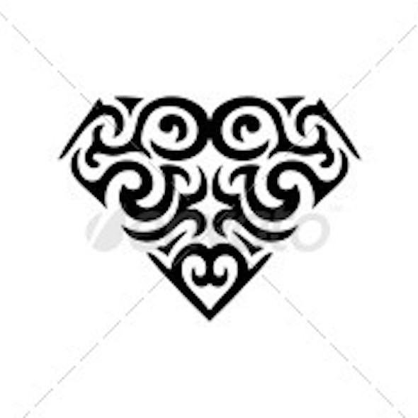 Diamond Ornamental Tattoo