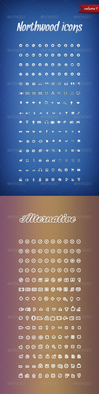 Northwood Icons Volume 1 - Web Icons