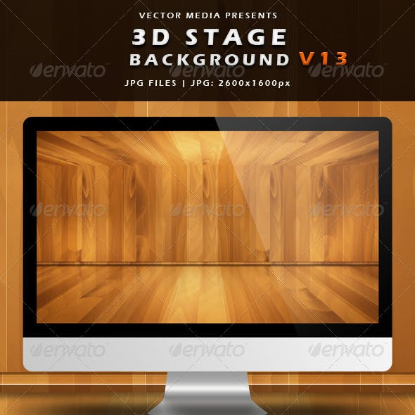 3D Stage Background - Vol.13