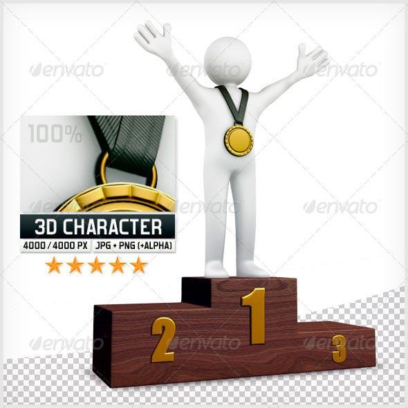 3D Puppet - Podium