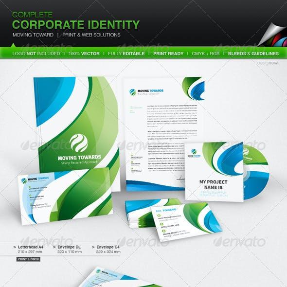 Corporate Identity - Moving Toward