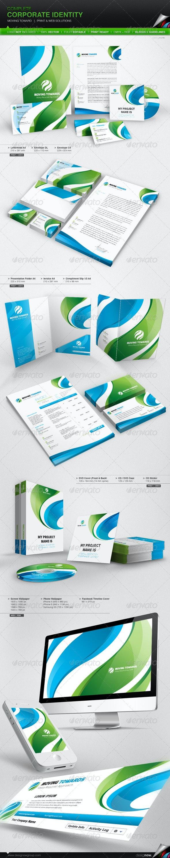 Corporate Identity - Moving Toward - Stationery Print Templates