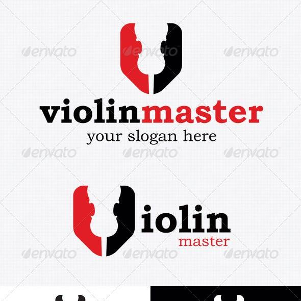 Violin Logo Template