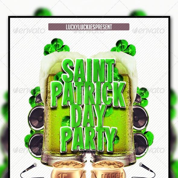 Saint Patrick's Flyer Template