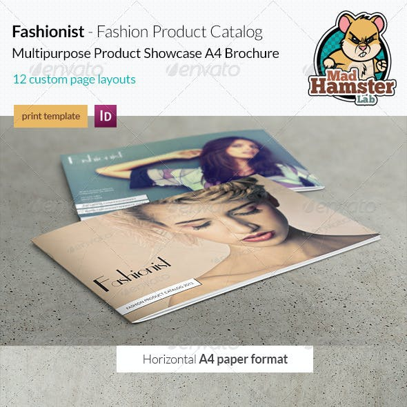 Fashionist - Fashion Product Catalog / Showcase