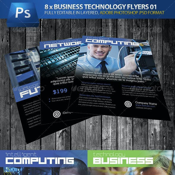 Business Technology Magazine Ads & Flyers