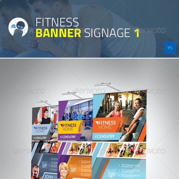 Fitness Banner Signage 1