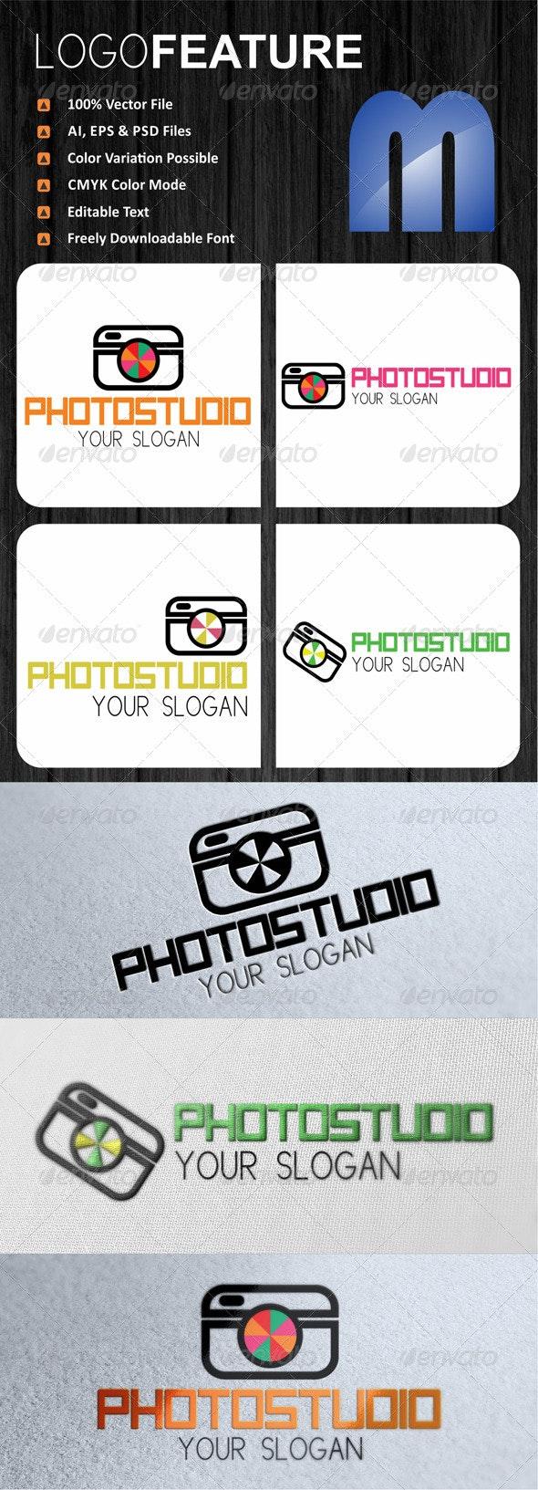 Photo Studio Logo - Symbols Logo Templates