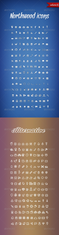 Northwood Icons Volume 2 - Web Icons