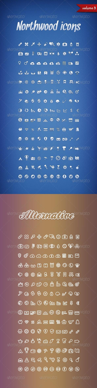 Northwood Icons Volume 3 - Web Icons