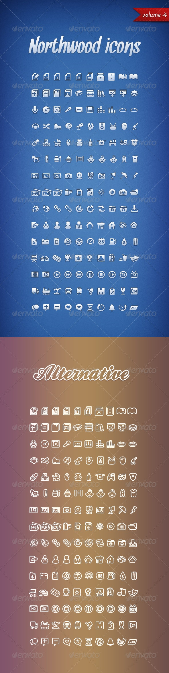 Northwood Icons Volume 4 - Miscellaneous Characters