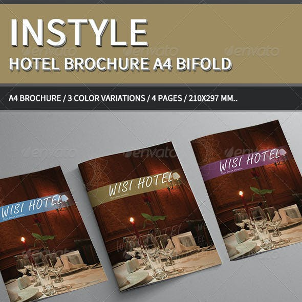 InStyle Hotel Brochure A4..
