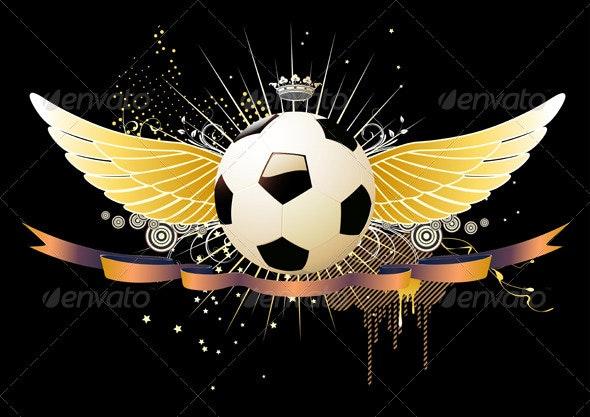 football/soccer concept - Sports/Activity Conceptual