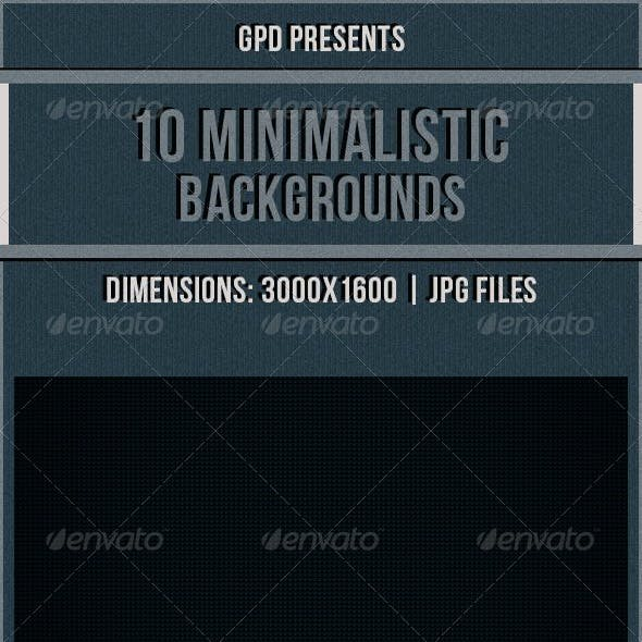 Minimalistic Backgrounds