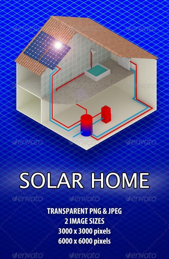Solar Home - Architecture 3D Renders