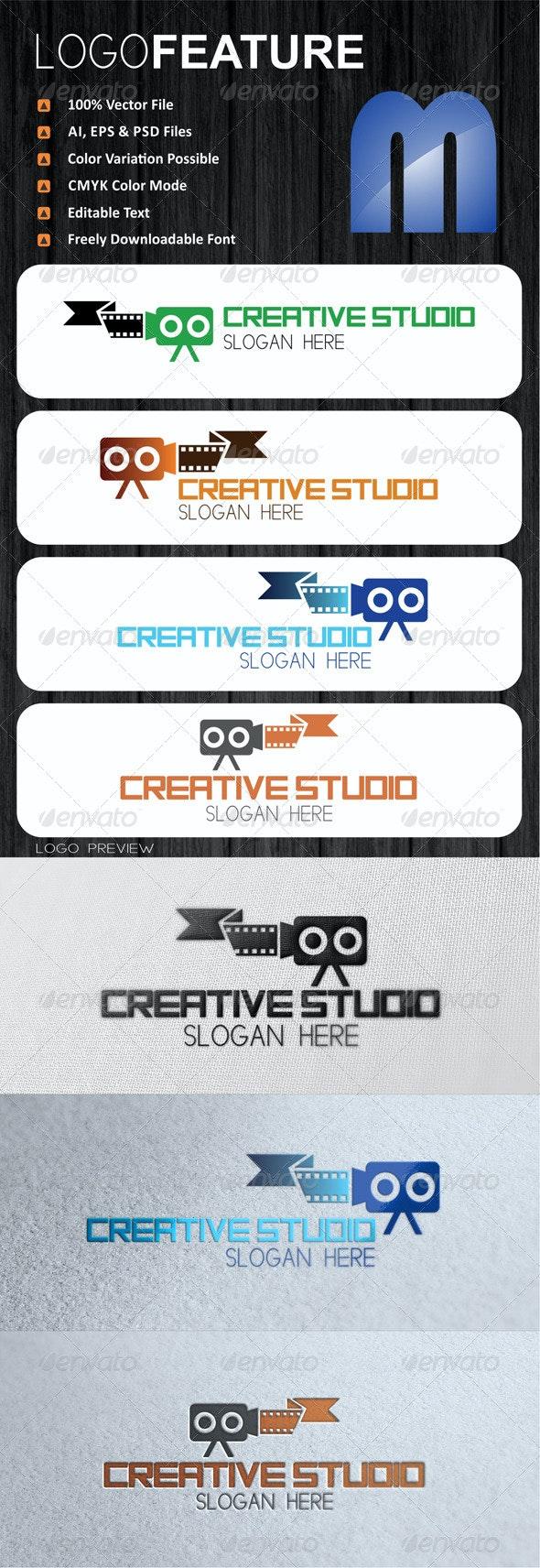 Creative Studio Logo - Symbols Logo Templates