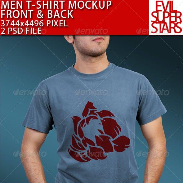 T-Shirt Mock-up Male