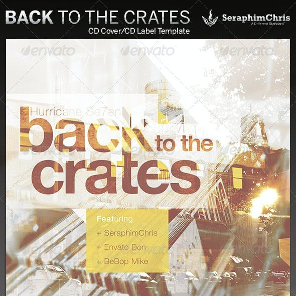 Back to the Crates: CD Cover Artwork Template