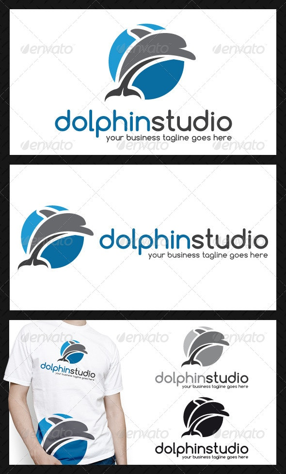 Dolphin Logo Template - Animals Logo Templates