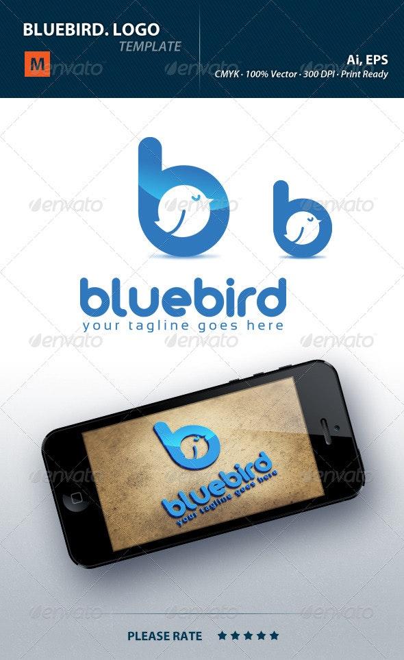 Bluebird Logo - Letters Logo Templates