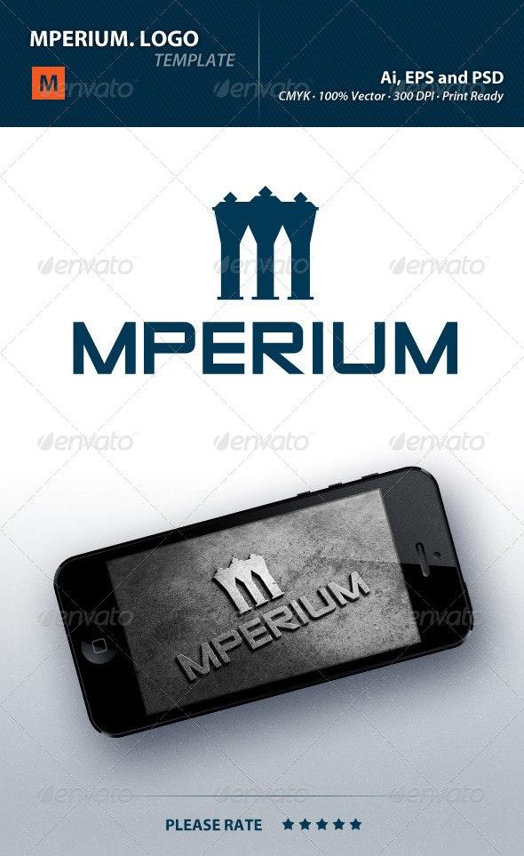 Mperium Logo - Letters Logo Templates
